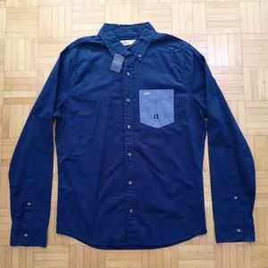 Hollister Oxford Shirt Medium NWT